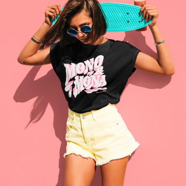 Cool women's graphic tee mono y mona