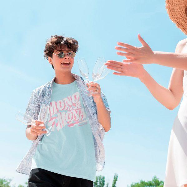 summer men's graphic tees mono y mona